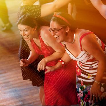 Dancers at Rant ceilidh