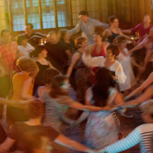 Ceilidh dancing at Rant