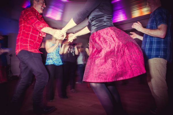 'Ceilidh attitude' is vivacious, high energy and care free. It's not worrying about getting the dance steps perfect, but instead offering you the freedom to throw yourself headlong into the party no matter how many left feet you may have.